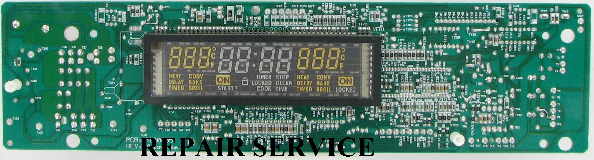 Repair Service For Whirlpool Oven / Range Control Board 4453664