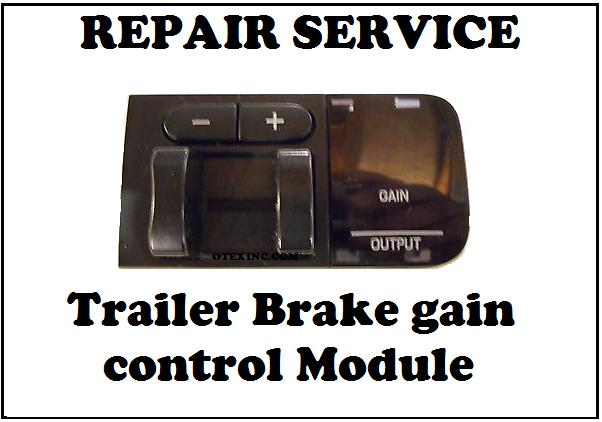 5C34-2C006-AH Trailer Brake gain control Module Ford 05 -07 F250