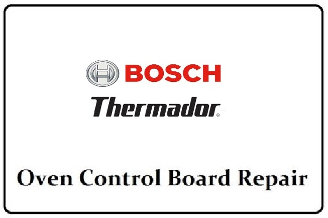 14-38-905 Repair Service for Bosch Oven Control Board