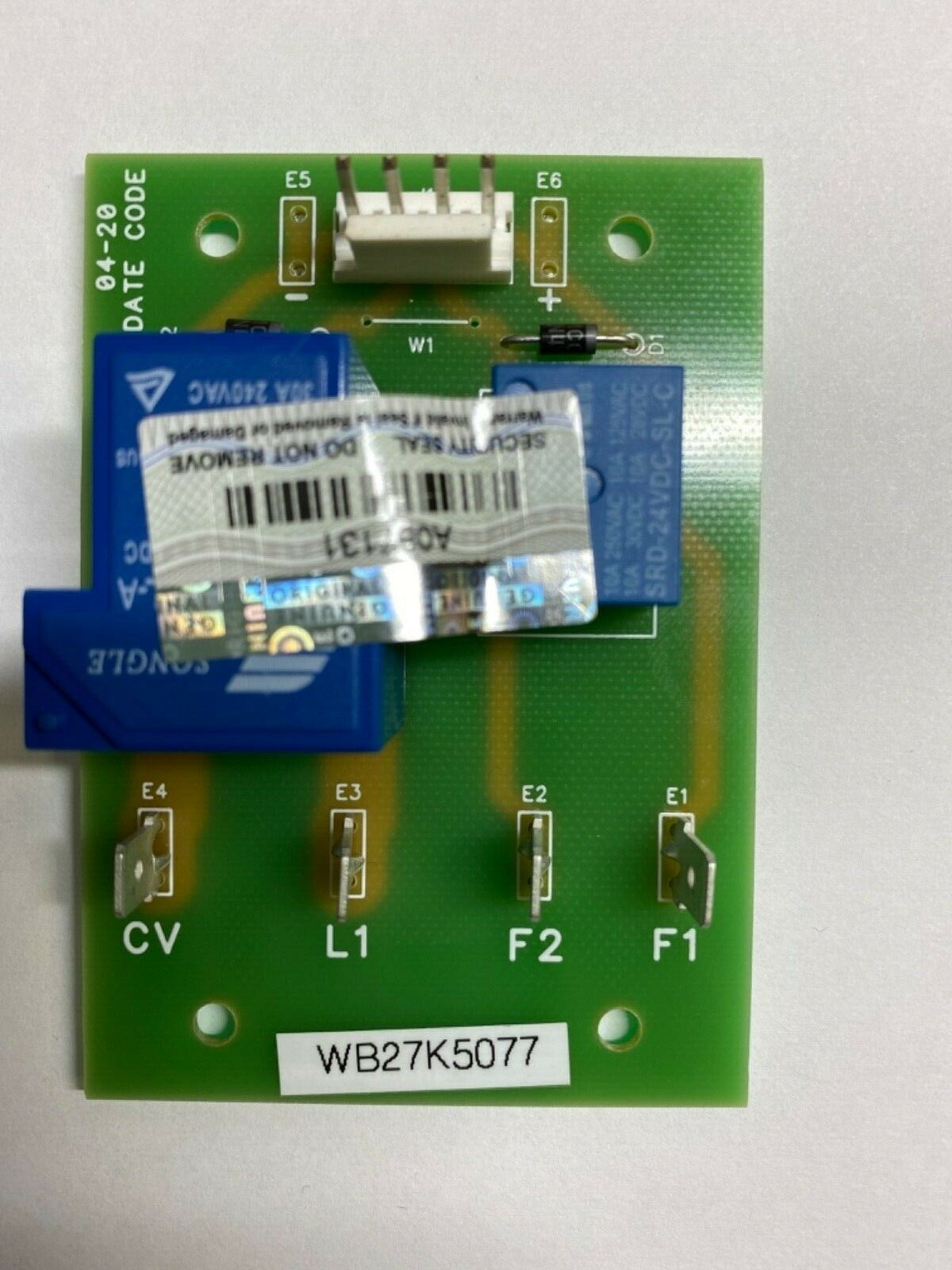 WB27K5077 GE Replacement relay board