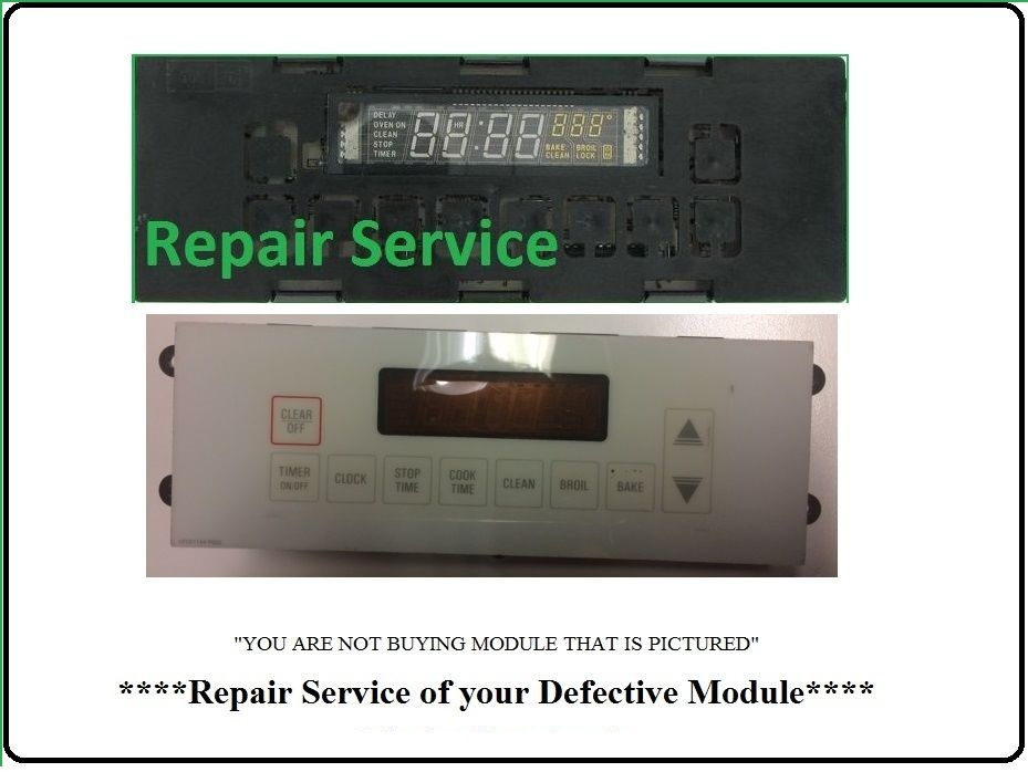 WB27K5140 Repair Service For Oven / Range Control Board