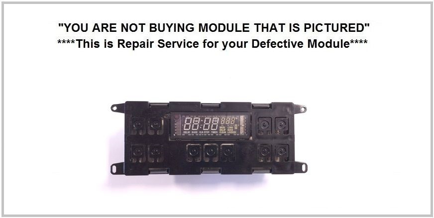 WB27K5190 Repair Service For GE Oven / Range Control Board