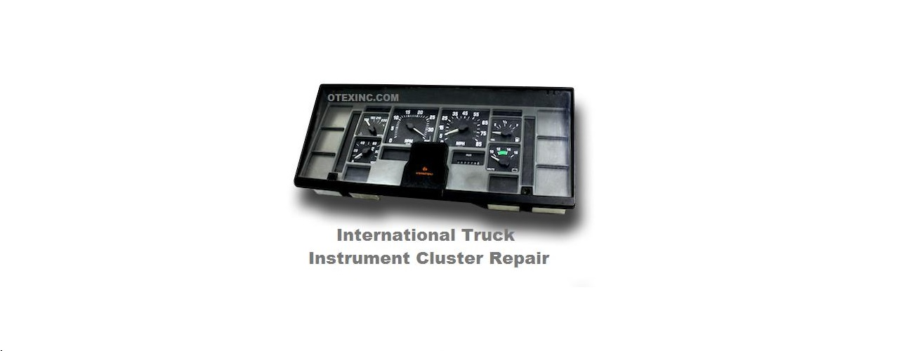 International Truck Instrument Cluster Repair