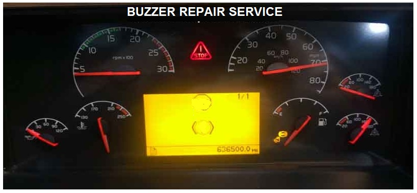 BUZZER REPAIR FOR VOLVO CLUSTER SEMI TRUCK